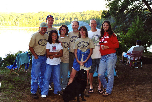 group photo 90-Miler 2000