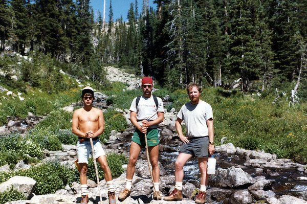 Bill, Tom and Jack in Colorado