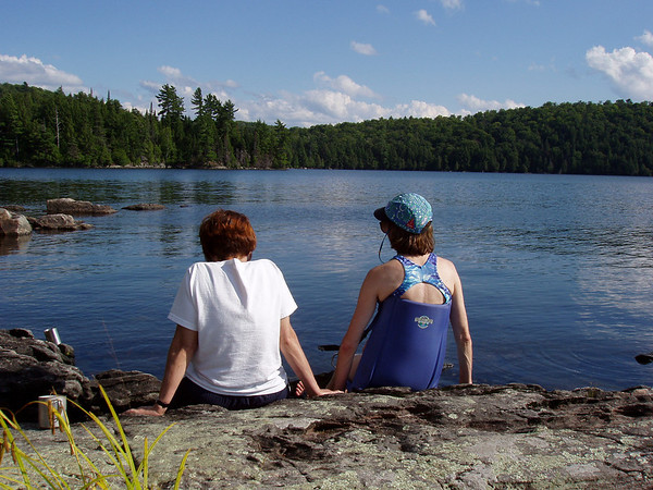 Jan and Mary in Algonquin