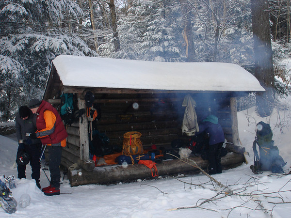 at the lean-to